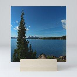 Yellowstone Lake View Mini Art Print