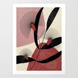 Flora Eucalipti  #society6 Art Print
