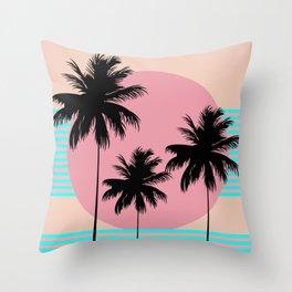 Hello California - Ocean Breeze Throw Pillow