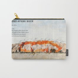 Uluru, Ayers Rock Carry-All Pouch