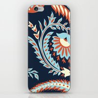 flora iPhone & iPod Skins featuring Flora by Tracie Andrews