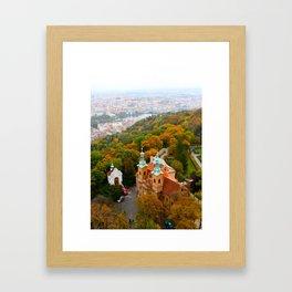 Prague: Petrin Hill Framed Art Print