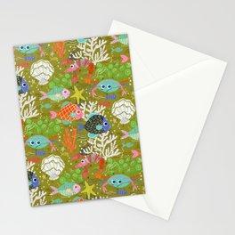 Underwater Adventure Stationery Cards