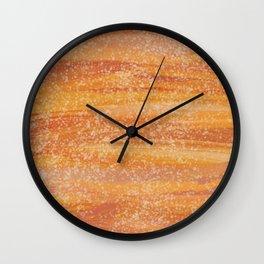 Graphic Sunset Wall Clock