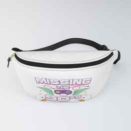 I Love 90s Nineties Fancy Dress Theme Party Gift Fanny Pack