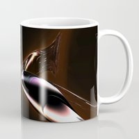 wings Mugs featuring Wings by GC