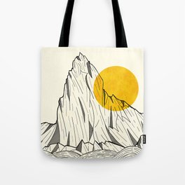 Sun Cliffs Tote Bag