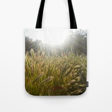 Wheat and poppies Tote Bag