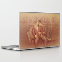 johnlock Laptop & iPad Skins featuring calm by br0-harry