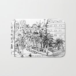 Casablaca Street Bath Mat