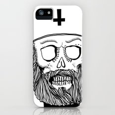 Satan bless you Slim Case iPhone (5, 5s)