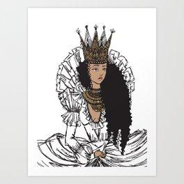 I'm Jade Royal Art Print