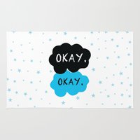 okay Area & Throw Rugs featuring Okay. Okay. by Kate & Co.