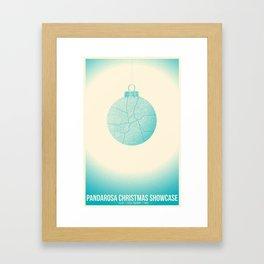 Pandarosa Christmas Showcase 2011 Framed Art Print