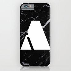 Black Marble - Alphabet A Slim Case iPhone 6s