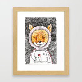 Le Petit Fox  Framed Art Print