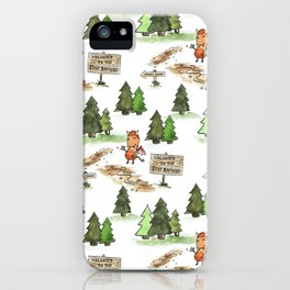 Jersey Devil Welcomes You to the Pine Barrens! iPhone Case