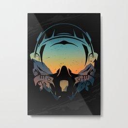Pilot Nature Metal Print
