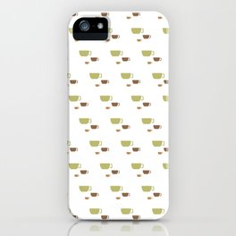 CUP PATTERN iPhone Case