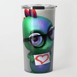 Dino love Travel Mug