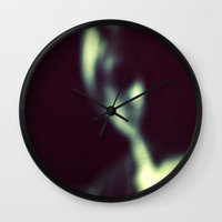 blur Wall Clocks featuring Blur by Monarch Images