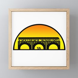 Fredericksburg, Virginia Framed Mini Art Print