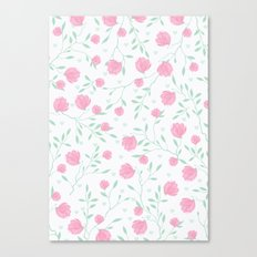 Floral pattern design Canvas Print
