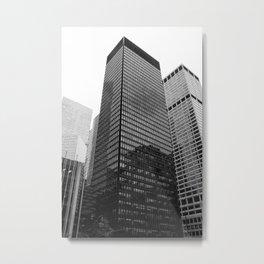 New York, Seagram Building, Mies van der Rohe Metal Print