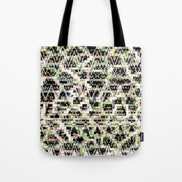 Faded Connections Tote Bag