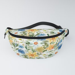 Watercolor Daffodils Large Scale Fanny Pack