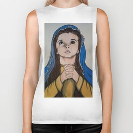The Holy Child Mary Biker Tank