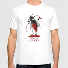 The Original Vampire White SMALL Mens Fitted Tee