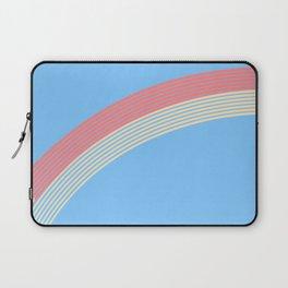 rainbow stripe 10 Laptop Sleeve