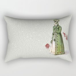 Pride & Prejudice - Zombified Rectangular Pillow