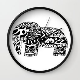 Elephant Ecopet Wall Clock