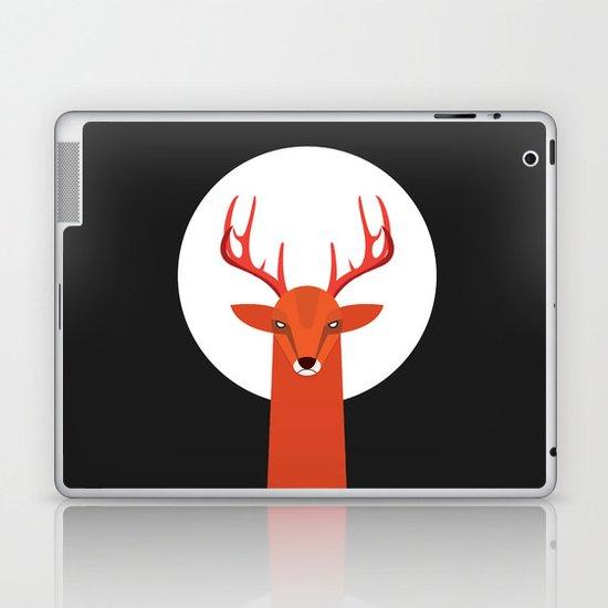 Deer and Moon Laptop & iPad Skin