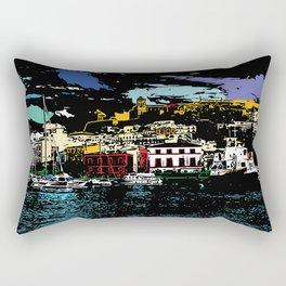 Ibiza Town Rectangular Pillow