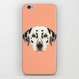 Dalmatian // Peach / Apricot iPhone Skin