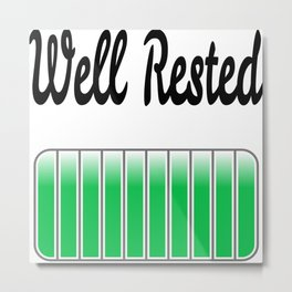 Well Rested Metal Print