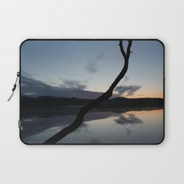 Sunset on lake, Nature Photography, Landscape Photos, sunset photos Laptop Sleeve
