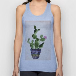 Blooming Cactus Unisex Tank Top