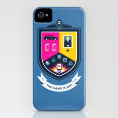 The Game is On! - blue version iPhone (4, 4s) Slim Case