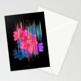 Night Blooming Bouquet Stationery Cards