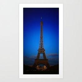 Eiffel_Tower Art Print