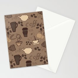 Caffeine Fix Stationery Cards