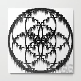NightMareSnare Metal Print