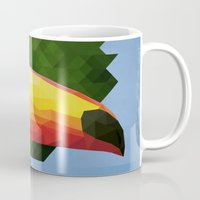 toucan Mugs featuring toucan by gazonula