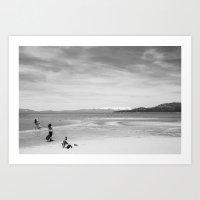 Lakeside at Tahoe Art Print