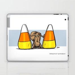 Between the corn Laptop & iPad Skin