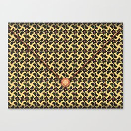 Gilded Cage Envelope Canvas Print